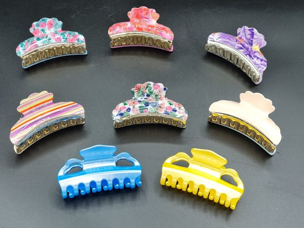 Exclusive Italian Hair claw clips