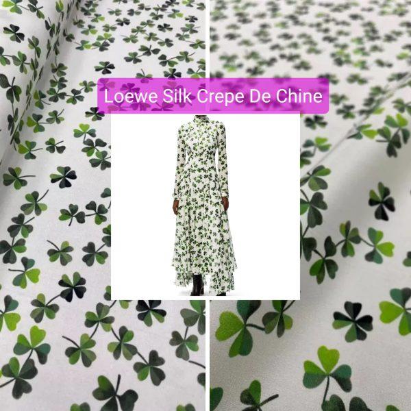 Loewe Silk Crepe de Chine