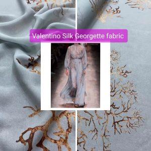Valentino Silk Georgette fabric