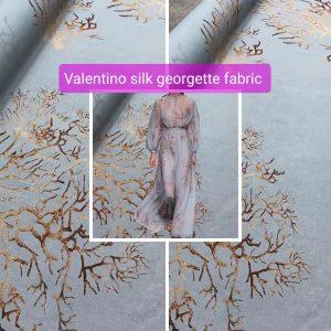 Valentino Silk Georgette fabric/Light transparent SS Milan Fashion week