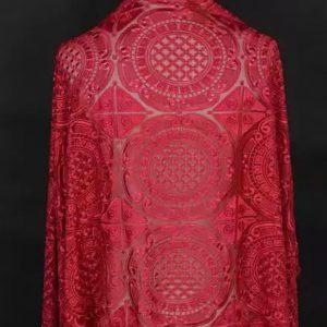 Alexander McQueen fabric Exclusive lace