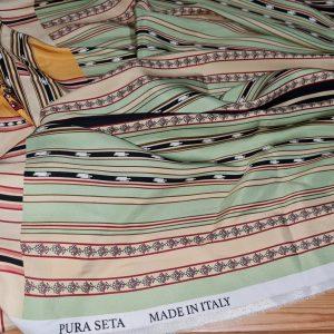 Etro Atelie Fashion Week Silk fabric,price for lot of 2m80cm