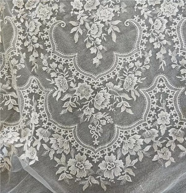 Collection Italian Wedding Lace Embroidery Fabric