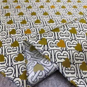 Burberry twill silk stretch fabric