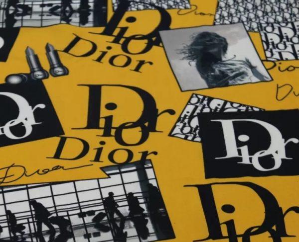 Dior Exclusive silk chiffon