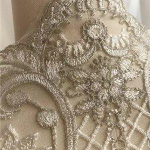 Italian Designer wedding laced embroidery fabric