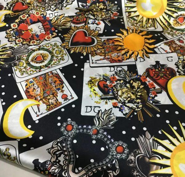 Dolce Gabbana sacred heart cards design