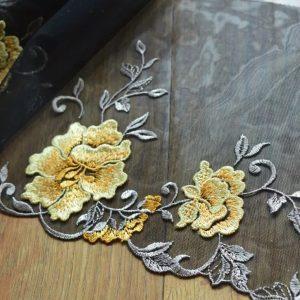 Italian Silk lace Embroidery