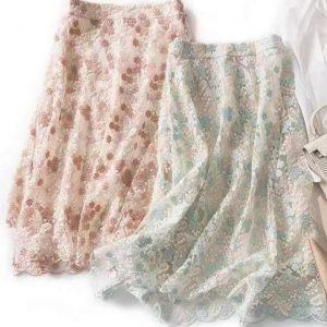 Alberta Ferretti cotton embroidered silk fabric soft