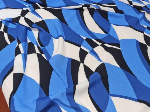 Emilio Pucci Silk Crepe fabric.Price for the piece 145/135cm 7 ⋆ Rozitta Rapetti