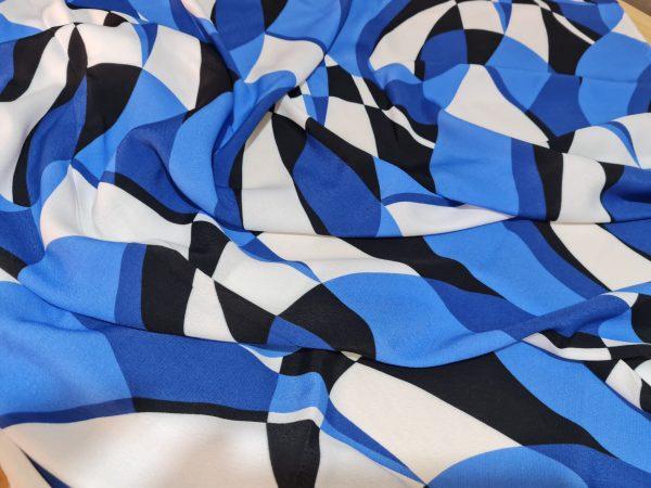 Emilio Pucci Silk Crepe fabric.Price for the piece 145/135cm 6 ⋆ Rozitta Rapetti