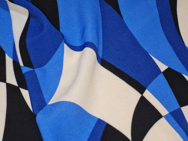Emilio Pucci Silk Crepe fabric.Price for the piece 145/135cm 5 ⋆ Rozitta Rapetti