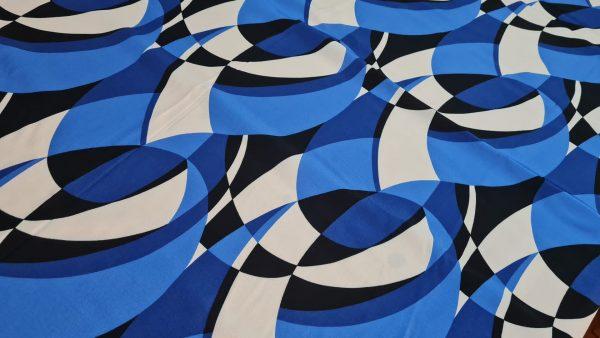 Emilio Pucci Silk Crepe fabric.Price for the piece 145/135cm 3 ⋆ Rozitta Rapetti