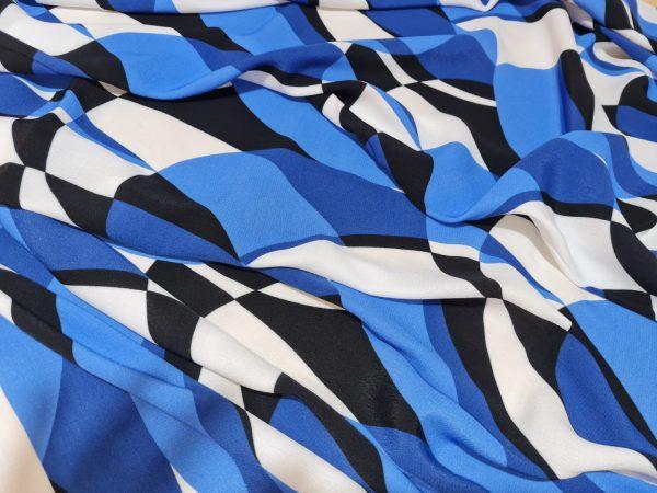 Emilio Pucci Silk Crepe fabric.Price for the piece 145/135cm 2 ⋆ Rozitta Rapetti