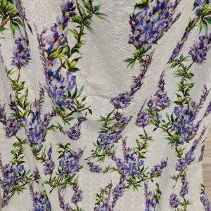 Alta moda, made in Italy Fabric pure cotton
