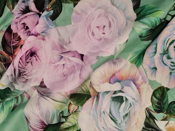 Exclusive Italian Silk Raso Fabric from Fashion Week