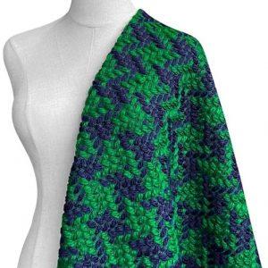 Italian tweed fabric
