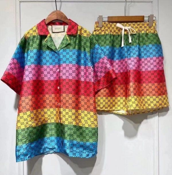Gucci fabric multicolour collection