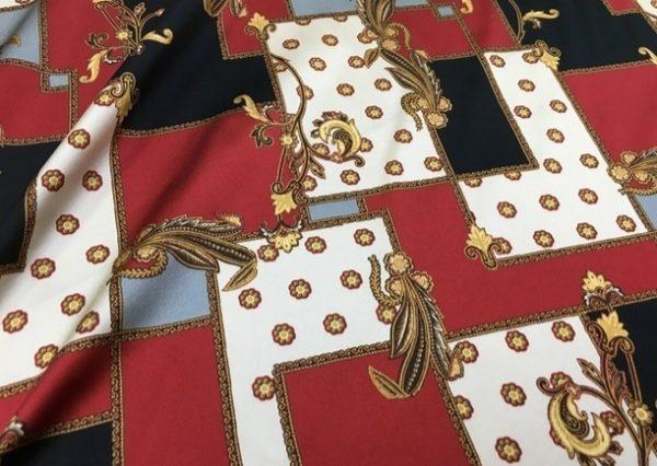Italian Exclusive Mulberry silk fabric