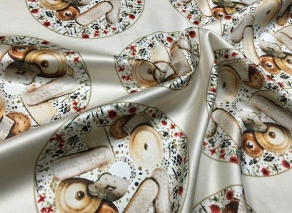 Italian Exclusive Silk Fabric