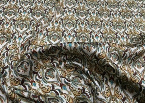 Etro Silk classic design Mulberry silk