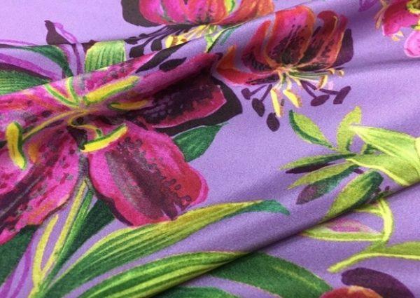 Italian Designer Silk Fabric mulberry silk
