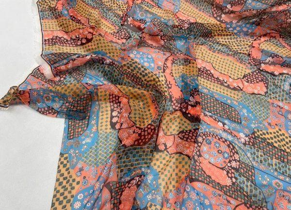 Dior collection Chiffon fabric