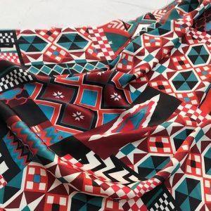 Italian silk satin fabric
