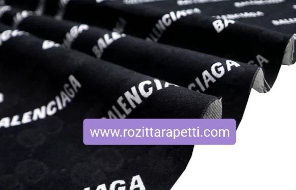 Gucci Balenciaga jacquard fabric