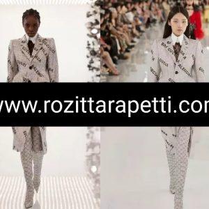 Balenciaga jacquard fabric