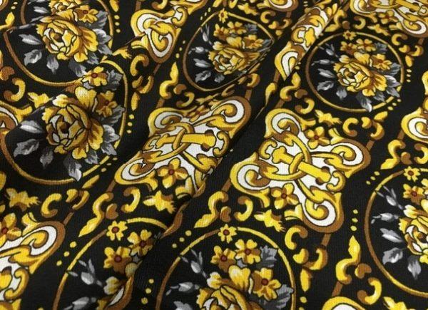 Versace Mulberry Silk