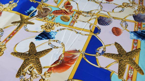 Versace Atelier Sea Collection fabric Silk