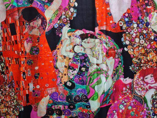 Italian Mulberry silk fabric