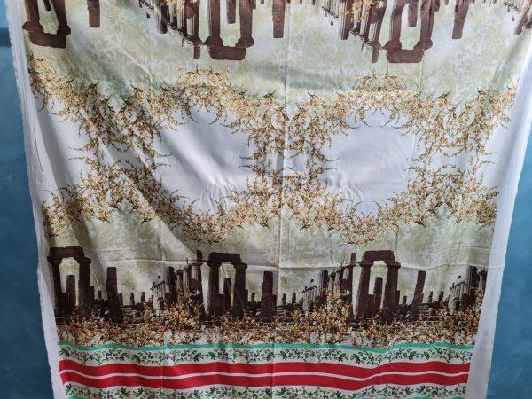 Italian Designer Cotton fabric Roman Architectural Design,Alta Moda Fabric,Fashion week Capri Show,Ancient Rome collection 1 ⋆ Rozitta Rapetti
