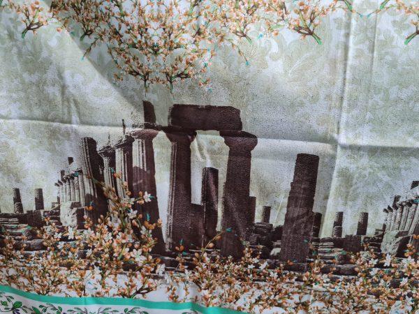 Designer Cotton fabric Roman Architectural