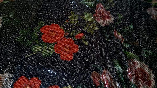 Alta Moda paillettes fabric Fashion Week