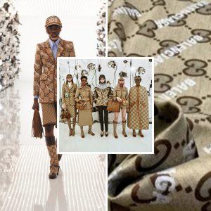 Gucci Balenciaga jacquard