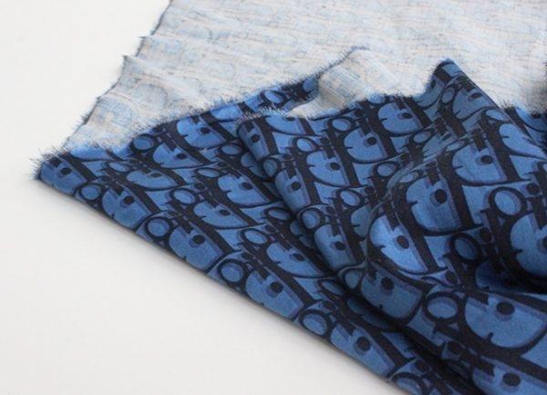 Dior cotton limited addition fabric