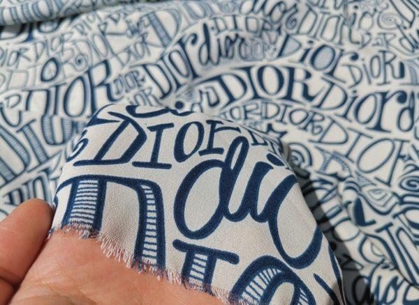 Dior Chiffon limited addition fabric