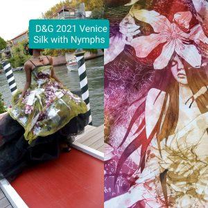 Fashion Week Silk Satin fabric