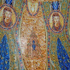Italian fabric,Alta Sartoria Fashion Week,Byzantine Design