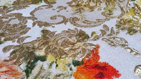 Fabric is perfect for wedding and evening dress,jacket,