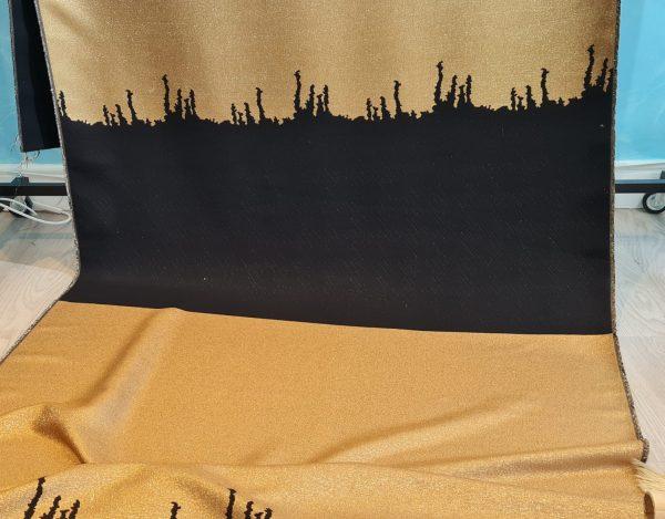 Prada Jacquard wool fabric new collection 2022
