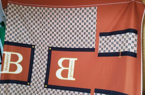 Burberry silk fabric