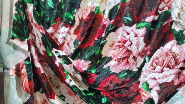Italian Designer Velvet fabric