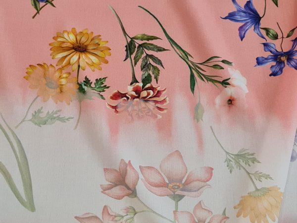 Gucci Cotton poplin with silk mixture fabric