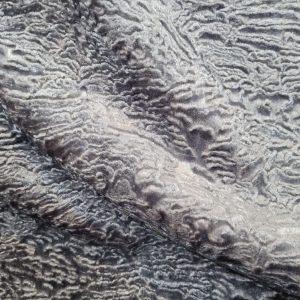 Designer velvet embossed pattern fabric