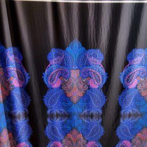 Exclusive Etro Silk viscose stretch fabric