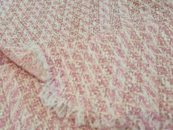 Beautiful italian tweed fabric 2022 collection