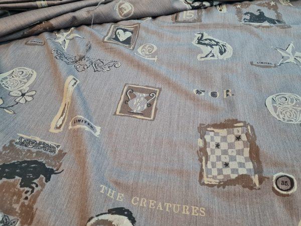 Moschino wool fabric Alta Moda